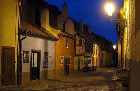 Pražský Hrad a Zlatá ulička