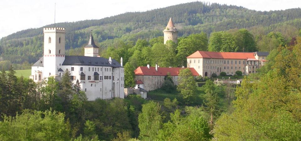 Český Krumlov, Rožmberk a Římovská poutní cesta