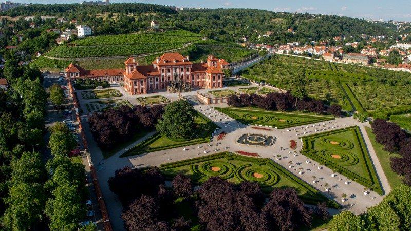 pátek 17. září – Zahrady Trojského zámku a původní koryto Vltavy