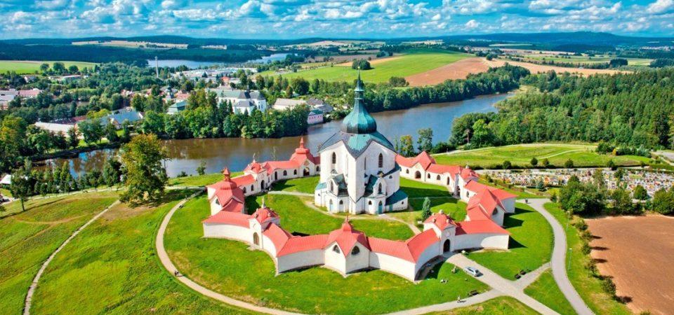 neděle 20. září – Zelená Hora a Santiniho zámek Žďár